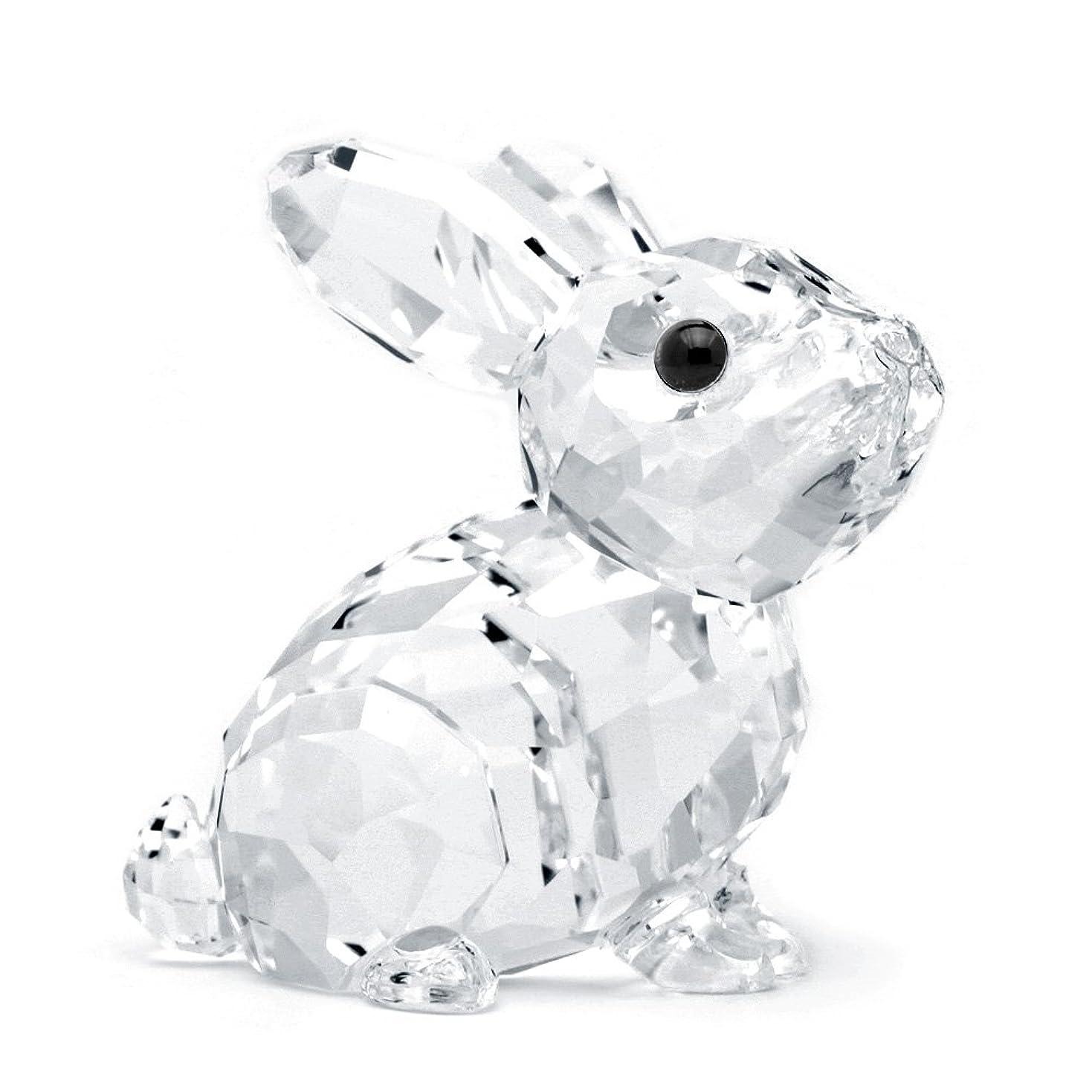 ほめる突進名誉あるスワロフスキー SWAROVSKI クリスタル フィギュア ウサギの赤ちゃん 5135942 置物 [並行輸入品]