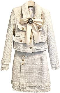 [L.Z.L] OL スーツ レディース スカートスーツ ビジネススーツ フォーマルスーツ セットアップ