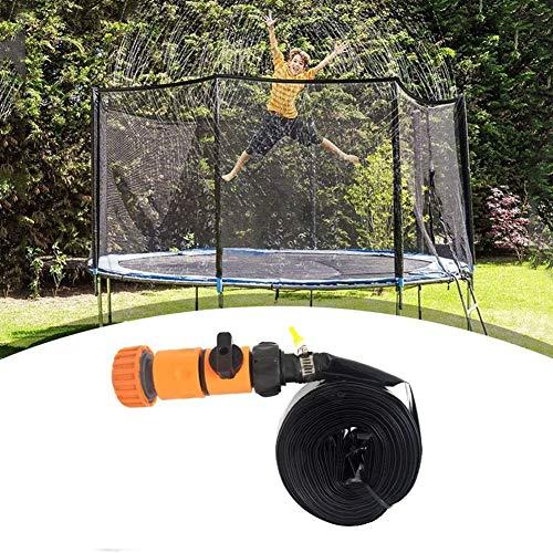 Dongbin Trampolin Sprinkler Für Kindertrampolin Spray Water Park Fun Cooling Sommer Outdoor-Hinterhof-Wasser-Spiel Trampolin-Zubehör, Orange,8m