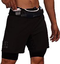 Men's 3-in-1 Hybrid Sports Shorts X Running Belt X Compression Shorts