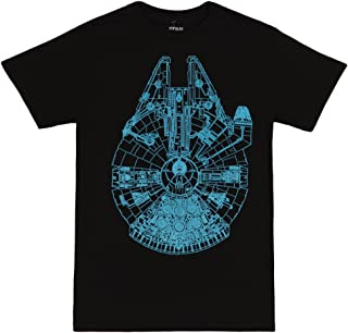 Star Wars Millennium Falcon Adult T-Shirt