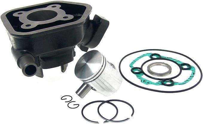 2extreme Zylinder Kolben 50ccm Kompatibel Für Peugeot Speedfight 2 50 Lc 2 Takt Typ S1 Auto