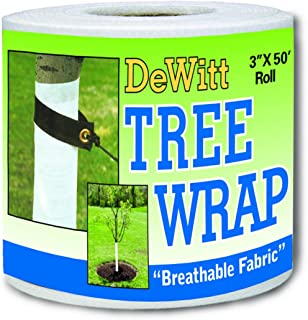 Dewitt 3-Inch by 50-Foot Tree Wrap White TW3W