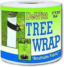Dewitt 3-Inch by 50-Foot Tree Wrap White TW3W