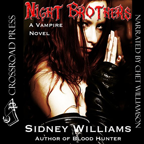 Night Brothers audiobook cover art
