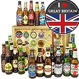 I love Great Britain - Geschenkidee England - Biere der Welt - 24x - Weihnachtskalender für Ihn Bier