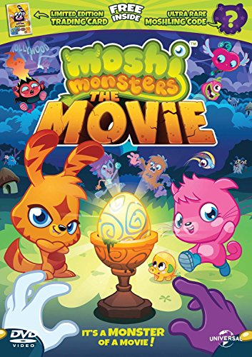 Moshi Monsters - Limited Edition with Trading Card and Moshling Code [DVD] [2013]