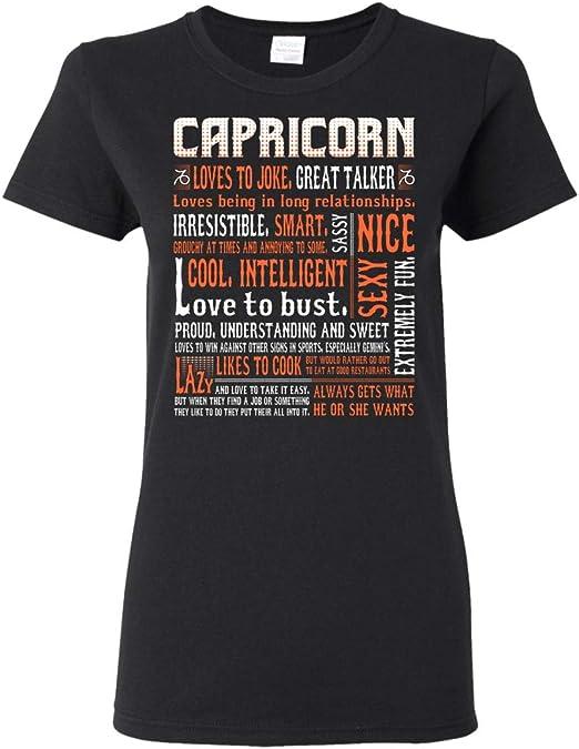 Capricorn Sign Zodiac Shirts Capricorn Birth Sign Capricorn Gift Badass Capricorn T-Shirt Zodiac Sign Birthday Gift Zodiac T-Shirts