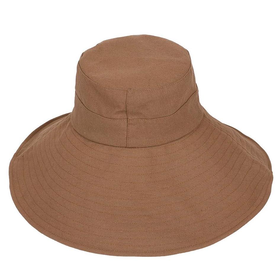 前件怒っているええ漁師帽 ROSE ROMAN 帽子 レディース UVカット 帽子 UV帽子 日焼け防止 軽量 熱中症予防 取り外すあご紐 つば広 おしゃれ 可愛い 夏季 海 旅行 無地 ワイルド カジュアル スタイル ファッション シンプル 発送