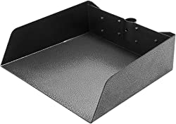 EXPAWLORER Large Pet Poop Tray Replacement Pack - Withstands Heavier Pressure Black