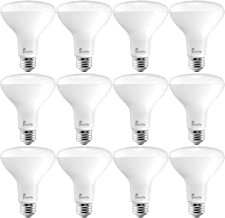 Greenlite BR30 LED Flood Light Bulbs, 65W Equivalent, 670 Lumens, Dimmable, Energy Star, E26 Medium Base, 3000K Bright Whi...