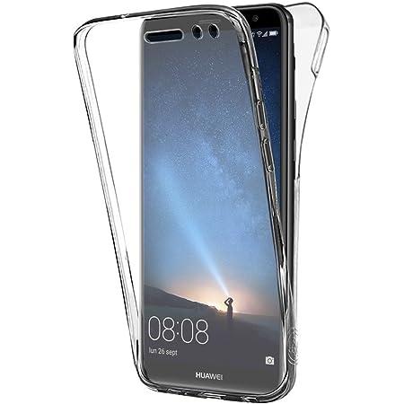 Buyus Coque Gel Huawei Mate 10 Lite (Non Compatible P10 Lite), Coque 360 Degres Protection Integral Anti Choc, Etui Ultra Mince Transparent Invisible ...