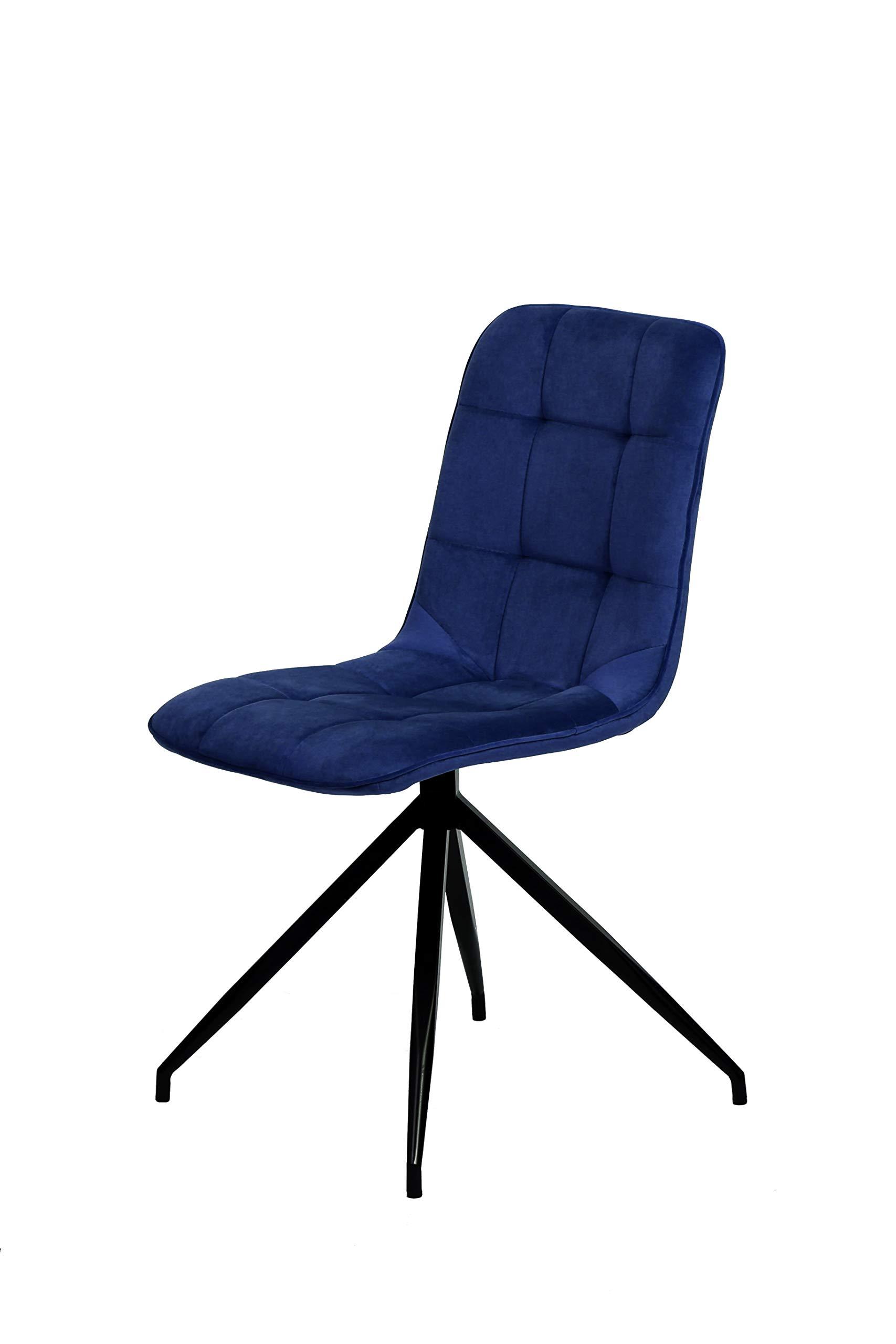 La Silla Española Maderuelo Silla, Telas, Azul índigo, Medidas: 46cm (Ancho) x 57cm (Fondo) x 88cm (Alto): Amazon.es: Juguetes y juegos