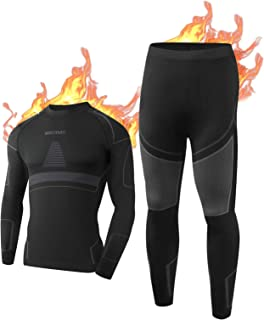 NOOYME Mens Thermal Underwear Mens Thermals Long Johns, Compression Top Men & Mens Leggings Quick Dry Long Johns For Men T...