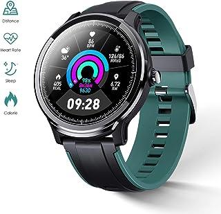 comprar comparacion GOKOO Bluetooth Smartwatch Hombre Reloj Inteligente Impermeable IP68 Actividad Monitor Pulsómetro Compatible con Android y...