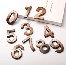 apartment numbers for doors