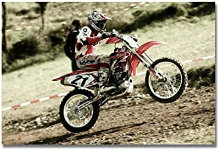 Adult Jigsaw Puzzle 500 Piece Wooden Puzzle Motocross Pattern for Teenagers and Adults,Very Good Educational Game