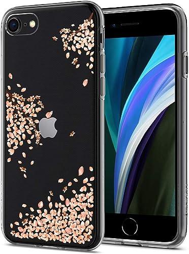 discount Spigen new arrival Liquid Crystal [2nd Generation] Designed for iPhone SE 2020 Case/Designed for iPhone 8 Case (2017) / Designed for iPhone 7 Case online sale (2016) - Blossom online sale