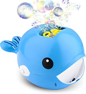 Bubble Machine, Automatic Bubble Blower, Bubble Maker 2000+ Per Minute Bubble Machine for Kids, Easy to Use for Parties, W...