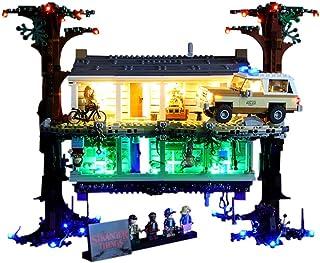 Led Lighting DIY Light Set, for (Creative Upside-Down) Building Blocks Model - Led Light Kit Compatible with Lego 75810 (N...