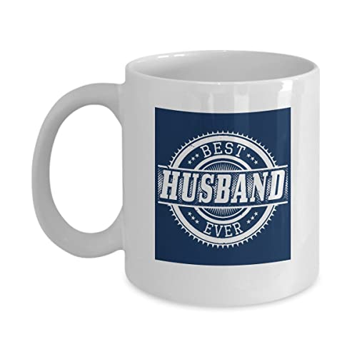 Best Husband Coffee Mug Cup With Ever Phrase