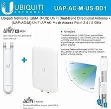 UniFi AP Mesh UAP-AC-M-US Dual-Band Access Point with Directional Antenna UMA-D Dual-Band