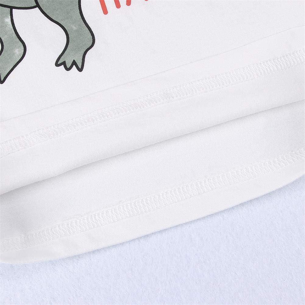 GLIGLITTR Toddler Boys T-Shirts Short Sleeve Shirt Graphic Tees Kids Summer Dinosaur Clothes