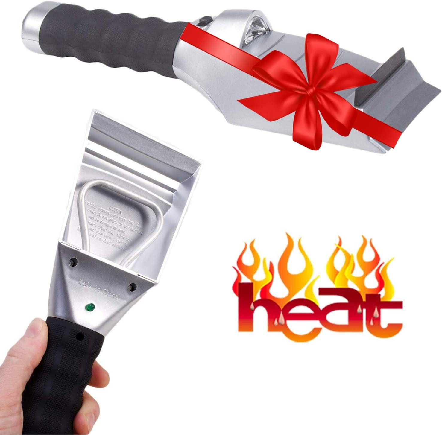 Choice Heated Snow Ice Scraper for Windshiel Electric - Classic Auto Car