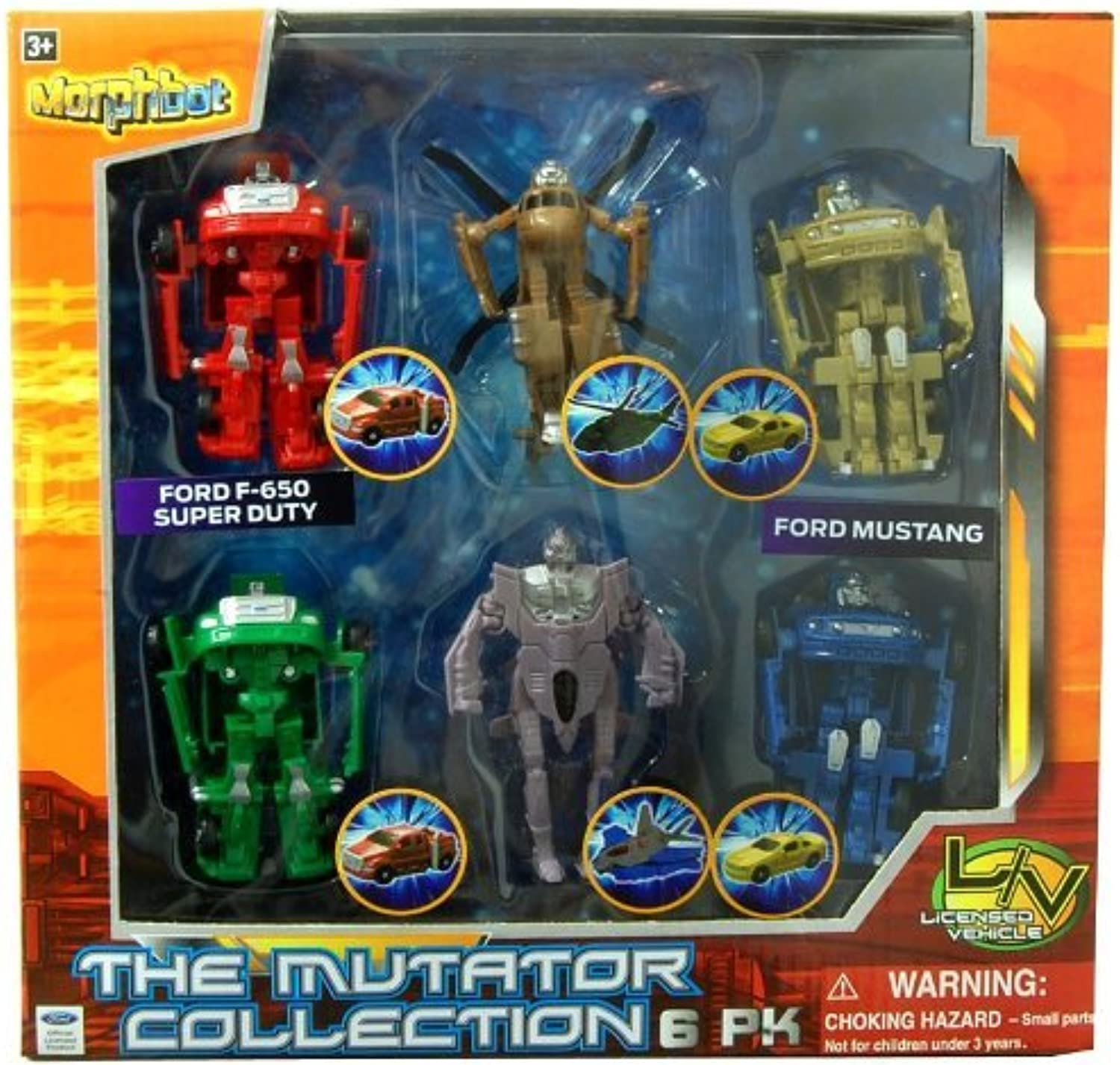 The Mutator Collection Figure 6Pack by Morphbot