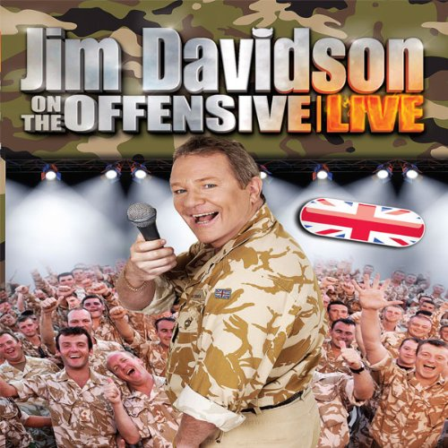 Jim Davidson On The Offensive Live cover art