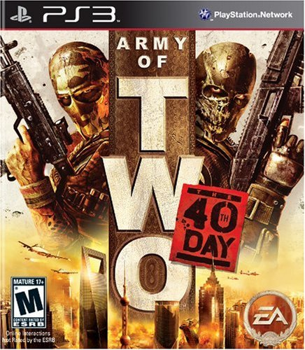 Electronic Arts Army of Two: The 40th Day PlayStation 3 vídeo - Juego (PlayStation 3, Shooter, Modo multijugador, M (Maduro))