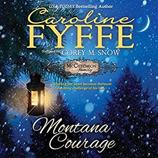 Montana Courage     McCutcheon Family Series, Book 9              Written by:                                                                                                                                 Caroline Fyffe                               Narrated by:                                                                                                                                 Corey M. Snow                      Length: 8 hrs and 51 mins     1 rating     Overall 5.0