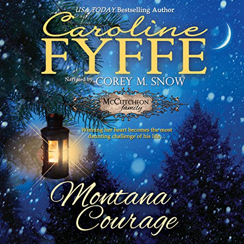 Montana Courage audiobook cover art