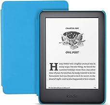 کیندل آمازون مدل All-new Kids Edition شامل دسترسی به هزراان کتاب | با جلد آبی