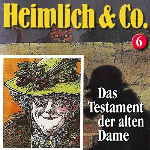 Das Testament der alten Dame audiobook cover art