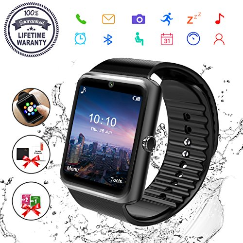 BRG Compatible with Apple Watch Band with Case, Silicone Sport Watch Band with Shock-Proof...