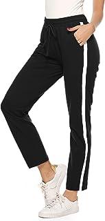 Topgrowth Pantaloni Donna Vita Alta Eleganti Casual Pantaloni a Righe Donne Bendare Vita Elastica Ufficio Festa Pantaloni Harem