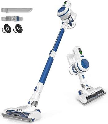 ORFELD Cordless Vacuum, Stick Vacuum Cleaner 4 in 1 with 17000pa Super Suction, Ultra-Lightweight & Quiet Handheld Vacuum for Home Hard Floor Carpet Car Pet(2020 Upgrade)