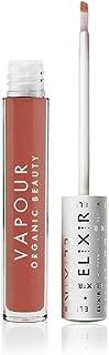 Vapour Organic Beauty Elixir Lip Gloss, Suite-Coppery Peach with Subtle Gold, 0.13 Ounce