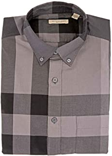 Best burberry brit fred check button down shirt Reviews