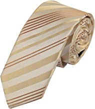 Epoint Men`s Fashion Multicoloured Creative Skinny Tie Stripes Slim Tie For Men