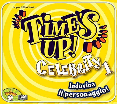 Asmodee Italia 54458 Time S Up Celebrities Ediz, Gialla