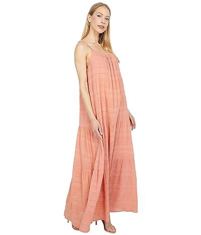 BB Dakota x Steve Madden Roman Holiday Puckered Cotton Voile Tent Dress