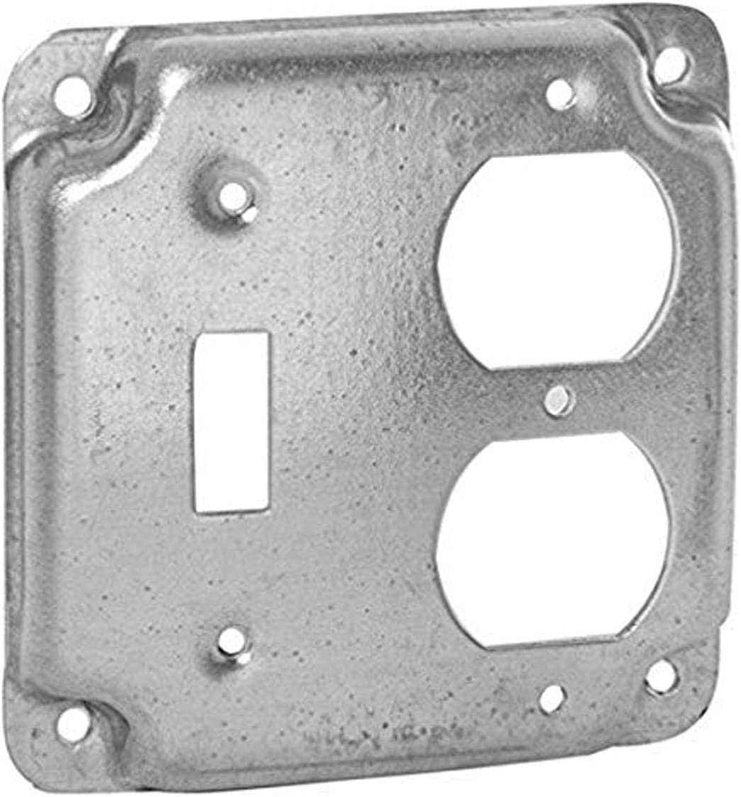 2 pack of Hubbell-Raco 906C 1 Switc Toggle and Duplex Super beauty 2021 model product restock quality top Receptacle