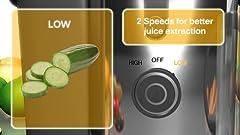 Amazon.com: BELLA BLA13694 13694 Juice Extractor, Stainless ...