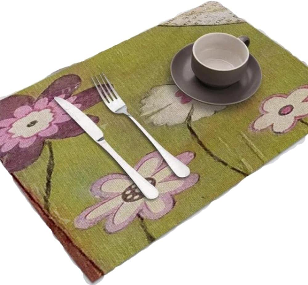 Oil Flower Printed Inventory cleanup selling sale Table Super popular specialty store Dining