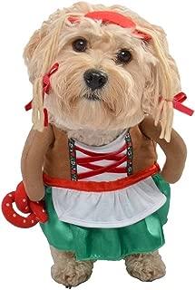 Dog Pet Costume -- German Girl Beermaid Oktoberfest Pretzel