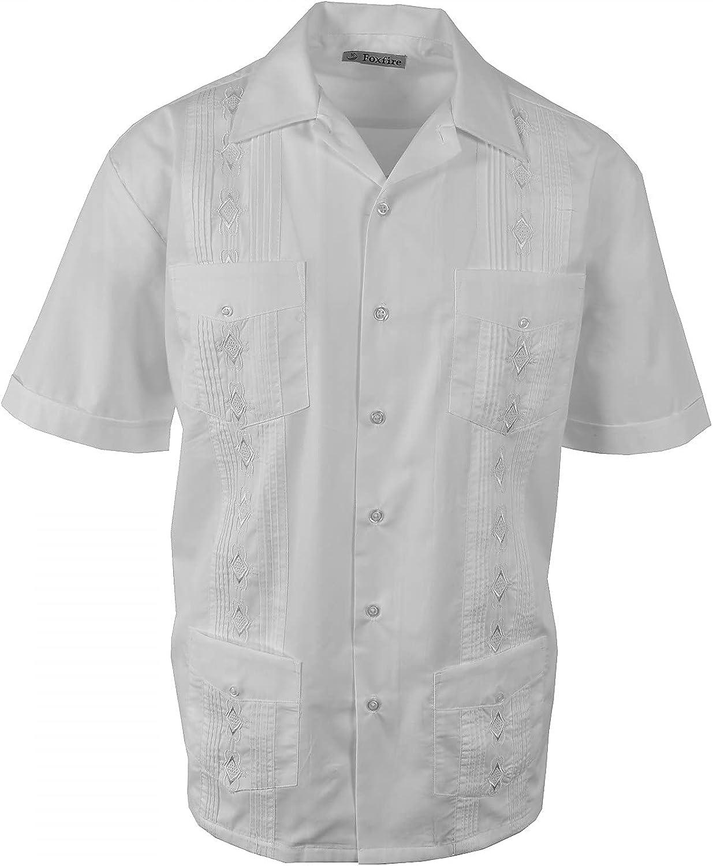 FOXFIRE Sportswear Men's Guayabera Shirt