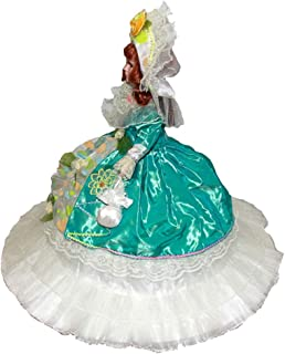 Perfeclan 45cm Victorian Porcelain Doll with Umbrella Dress & Hat, Creative  Girlfriend, Dollhouse People Display Decor Collection