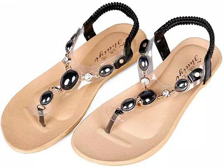 San hojas Purple Flat shoes Bohemia Style Summer Sandals Beach